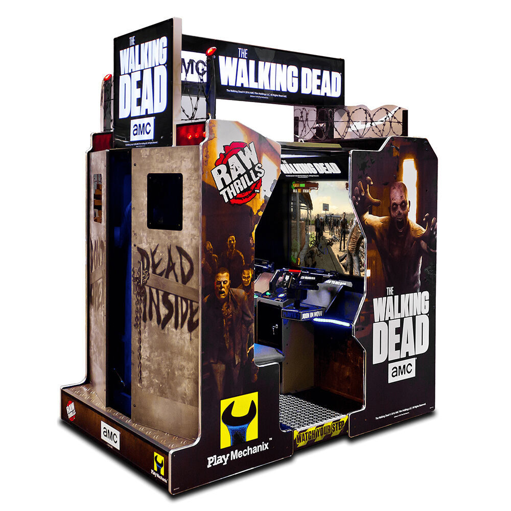 RAW THRILLS WALKING DEAD